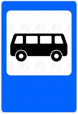 Место остановки автобуса и (или) троллейбуса 5.16