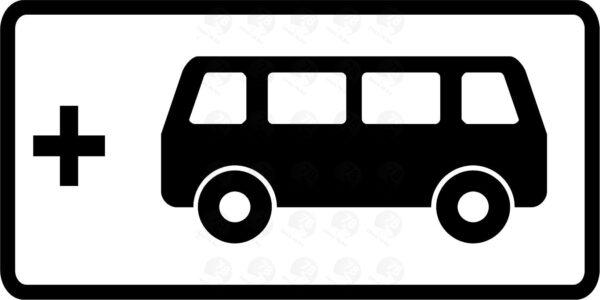 Вид маршрутного транспортного средства 8.21.2