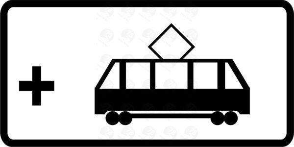 Вид маршрутного транспортного средства 8.21.3