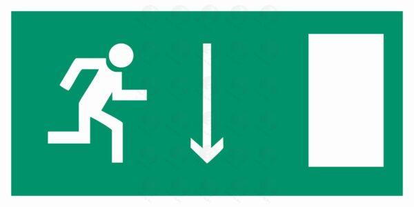 Указатель двери эвакуционного выхода (правосторонний)