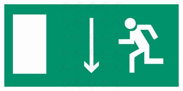 Указатель двери эвакуционного выхода (левосторонний)