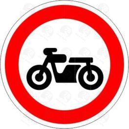 Движение мотоциклов запрещено 3.5