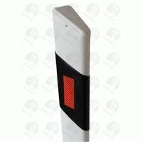Пластиковый дорожный сигнальный столбик С01