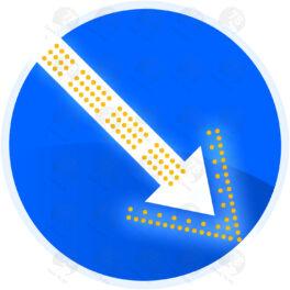 Светодиодный знак 4.2.1